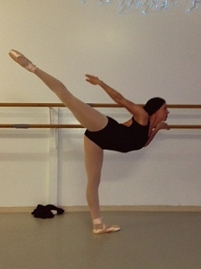 Day 1 Arabesque Penche 1